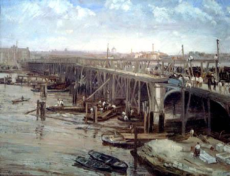 James Abbott McNeill Whistler - The Last of Old Westminster