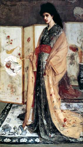 James Abbott McNeill Whistler - Die Prinzessin aus dem Land des Porzellans