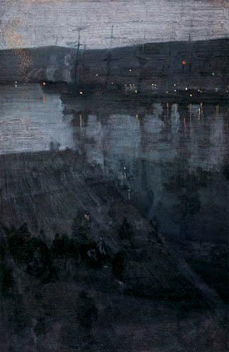 James Abbott McNeill Whistler - Nachts in der Valparaiso Bucht