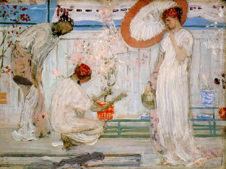 James Abbott McNeill Whistler - Symphonie in Weiß: Drei Mädchen