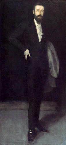 James Abbott McNeill Whistler - Porträt F. R. Leyland