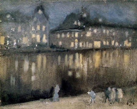 James Abbott McNeill Whistler - Nächtliches Amsterdam