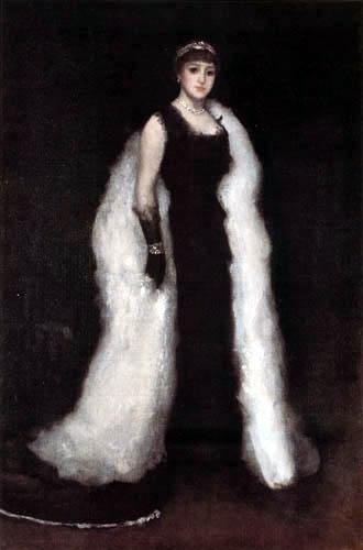 James Abbott McNeill Whistler - Arrangement in Schwarz: Lady Meux