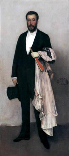 James Abbott McNeill Whistler - Porträt Théodore Duret