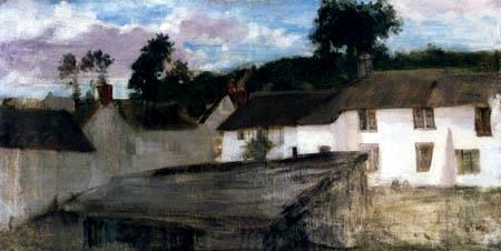 James Abbott McNeill Whistler - Bauernhäuser in Devonshire