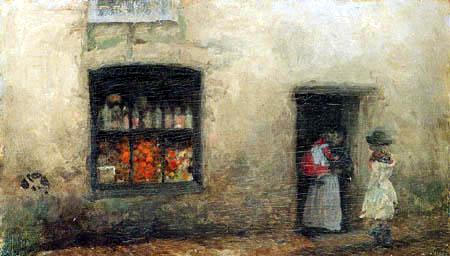 James Abbott McNeill Whistler - Der Süßwarenladen
