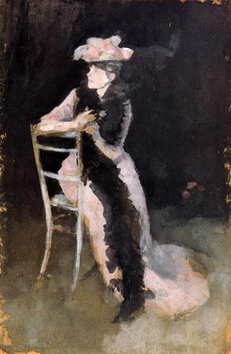 James Abbott McNeill Whistler - Porträt Mrs. Whibley