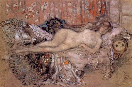 James Abbott McNeill Whistler - Arabic Woman