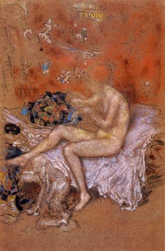 James Abbott McNeill Whistler - Die Wahrsagerin