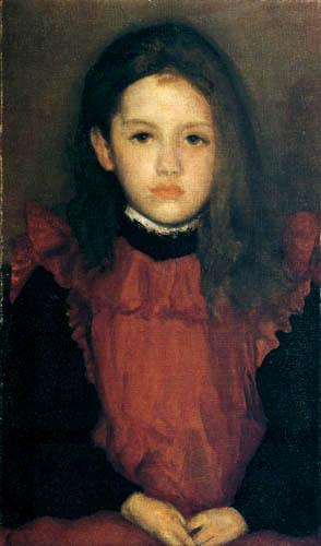James Abbott McNeill Whistler - Die kleine Rose von Lyme Regis