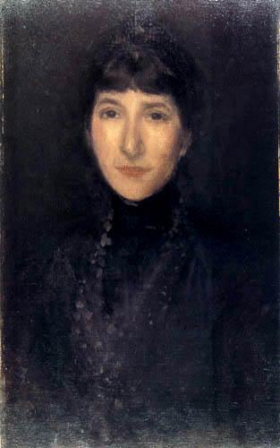 James Abbott McNeill Whistler - The Jade Necklace