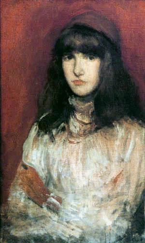 James Abbott McNeill Whistler - Der kleine rote Handschuh