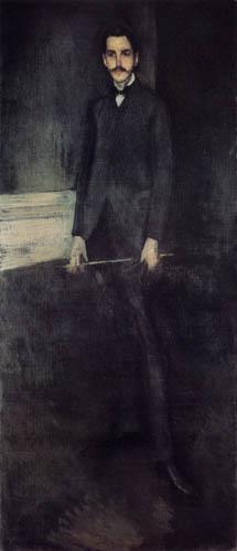 James Abbott McNeill Whistler - Porträt George W. Vanderbilt