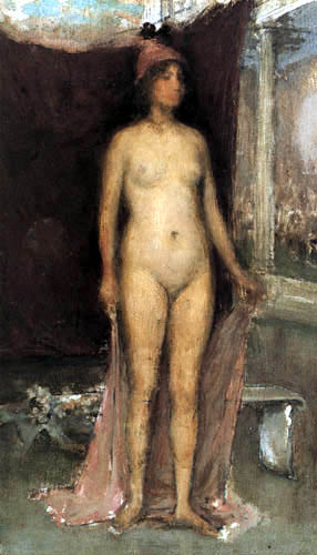 James Abbott McNeill Whistler - Phryne the Superb !