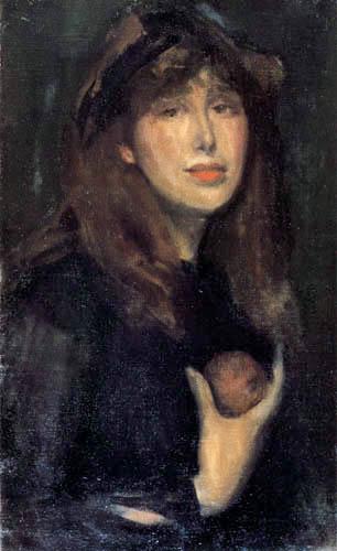 James Abbott McNeill Whistler - Porträt Dorothy Seton