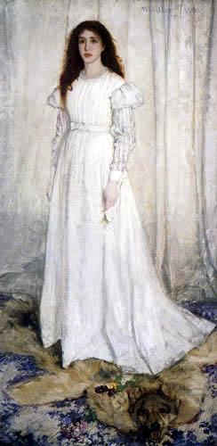 James Abbott McNeill Whistler - Das weiße Mädchen