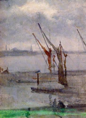 James Abbott McNeill Whistler - Kaianlage in Chelsea