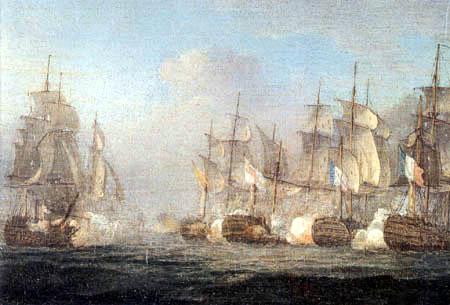 Thomas Whitcombe - Trafalgar 21. Oktober 1805