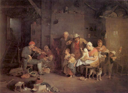 Sir David Wilkie - The Blind Fiddler