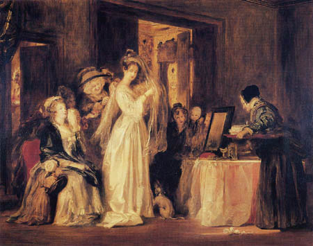 Sir David Wilkie - The Bride at her Toilet on the Day of her Wedding