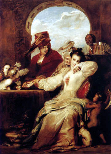 Sir David Wilkie - Fortune Teller