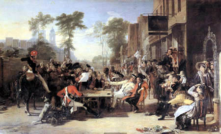 Sir David Wilkie - Chelsea Pensioners Reading the Waterloo Despatch