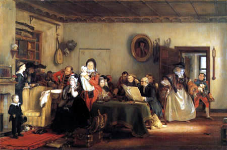 Sir David Wilkie - Opening of the will