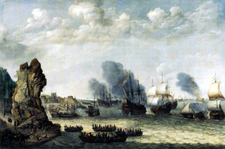 Abraham Willarts - Action between Spaniards and Dutchmen