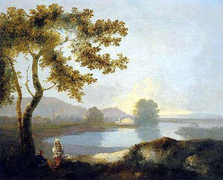 Richard Wilson R.A. - View of a Lake