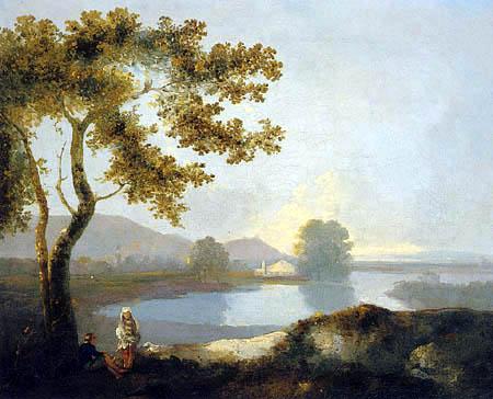 Richard Wilson R.A. - Blick auf einen See
