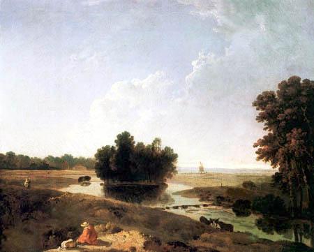 Richard Wilson R.A. - Blick auf Hounslow Heath