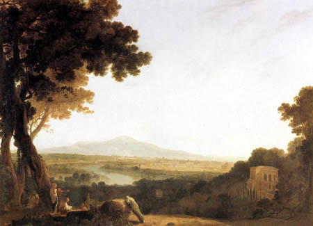 Richard Wilson R.A. - Blick auf Rom