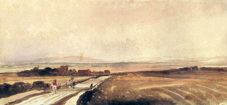 Peter de Wint - A Road in Yorkshire