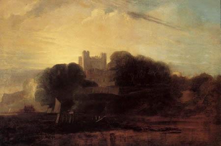 Peter de Wint - Rochester Castle