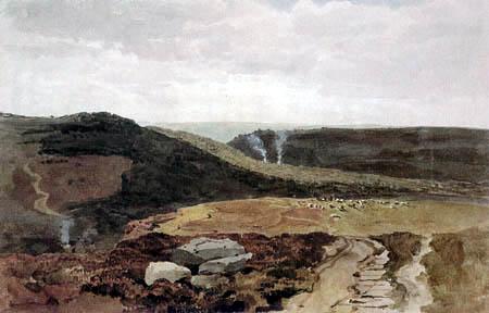 Peter de Wint - Yorkshire Fells