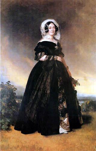 Franz Xaver Winterhalter - Herzogin Marie-Louise Victoria