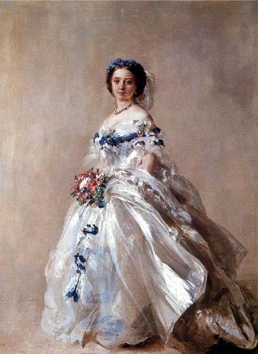 Franz Xaver Winterhalter - Prinzessin Victoria