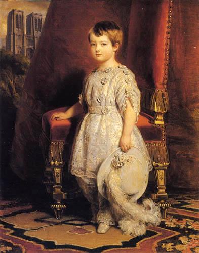 Franz Xaver Winterhalter - Portait of the Count of Paris