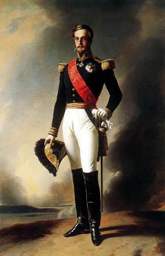 Franz Xaver Winterhalter - Porträt des Herzogs von Aumale