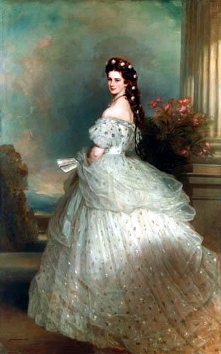 Franz Xaver Winterhalter - Prinzessin Sissi