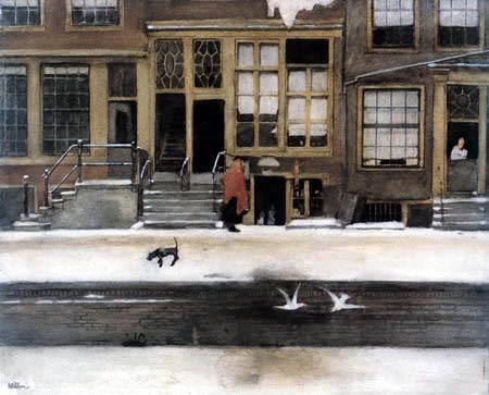 Willem Arnold Witsen - Kramladen in Amsterdam