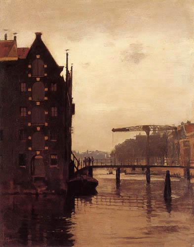 Willem Arnold Witsen - Pont-levis à Amsterdam