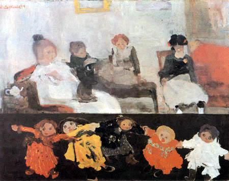 Witold Wojtkiewicz - Puppen