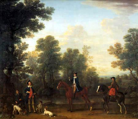 John Wootton - The Hunt of the Duke of Beaufort