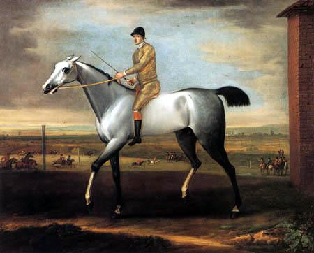 John Wootton - The Duke of Bridgewater´s Astridge Ball on Newmarket Racecourse