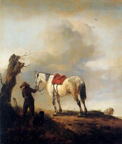 Philips Wouwermann - White Horse
