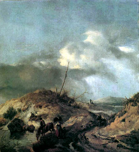 Philips Wouwermann - Dune landscape