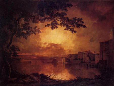 Joseph Wright of Derby - La Girandola