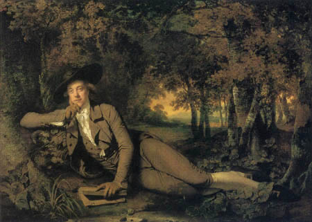 Joseph Wright of Derby - Portrait of Sir Brooke Boothby