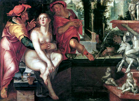 Joachim Anthonisz Wtewael - Susanna and the two old men